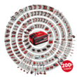 Einhell AXXIO 18/125 Q Solo Akkus sarokcsiszoló (akku és töltő nélkül) /4431151/