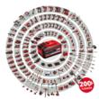 Einhell TE-RS 18 Li SOLO Akkus excenter csiszoló /akku és töltő nélkül/ (4462010)