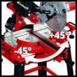 Einhell TC-SM 2531/2 U Állványos Vonó-fejező-gérvágó fűrész (4300805)
