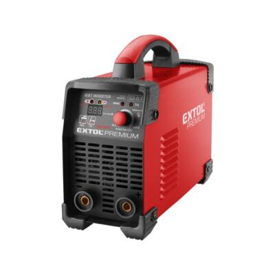 Extol Premium inverter hegesztő készülék, 160A, munkakábel+földelőkábel (8896025)