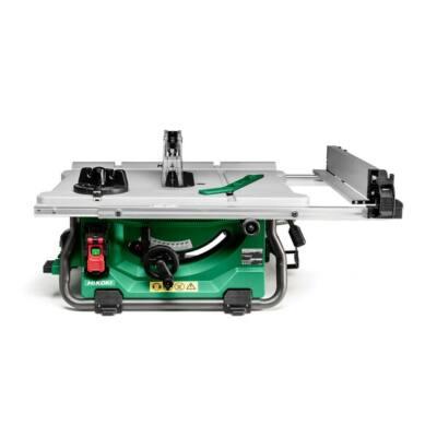 HiKOKI (Hitachi) C3610DRJ-ET36A MULTI VOLT(36V) Akkus asztali fűrész-hálózati adapterrel(Akku és töltő nélkül)