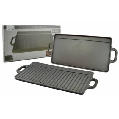 Perfect Home 12014 Öntöttvas grill lap 2 oldalas