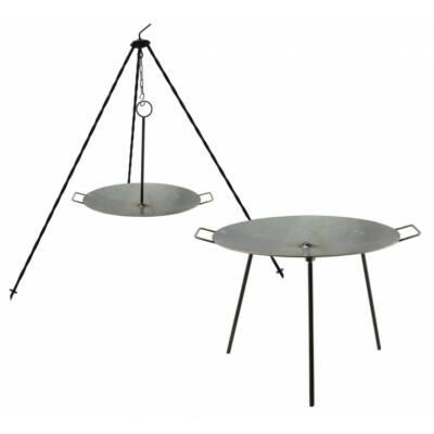 Perfect Home 28337 Vas grill tárcsa, boronatárcsa kétfunkciós 50cm
