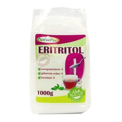 NaturPiac Eritrit - Eritritol természetes édesítőszer 1000g Xilovit ZERO