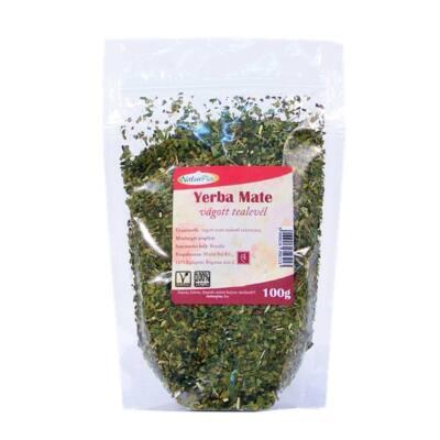 NaturPiac Mate zöld tealevél, vágott ,100g