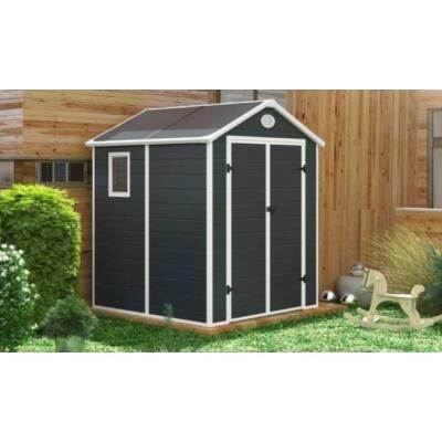 G21 PAH-357 kerti ház, kerti tároló,  188 x 190 cm, szürke, műanyag