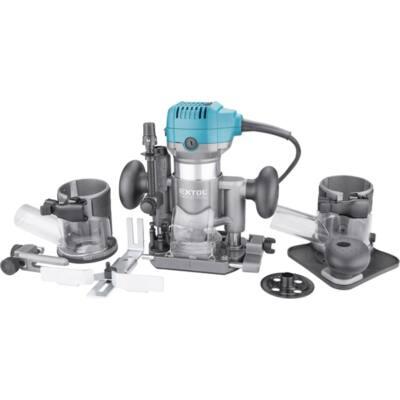 Extol Industrial felsőmarógép, 710W, többfunkciós, befogás: 6/8mm /8793302/