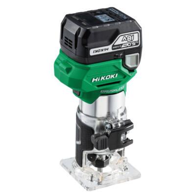 HiKOKI (Hitachi) M1808DA-5AH-HSC 18 V akkumulátoros élmaró, 2x5AH + töltő + HITBOX
