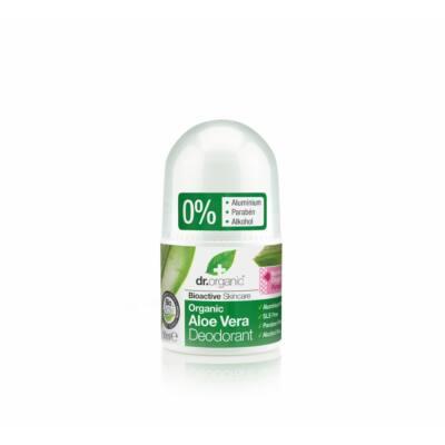 Dr. Organic alumíniummentes  Golyós dezodor bio aloe verával 50 ml