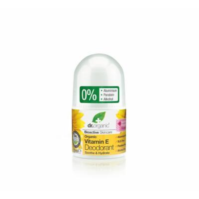 Dr. Organic  alumíniummentes Golyós dezodor Bio E vitaminnal 50 ml