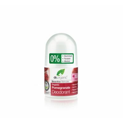 Dr. Organic alumíniummentes Golyós dezodor bio gránátalmával 50 ml