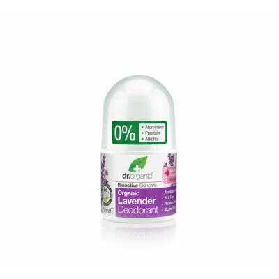 Dr. Organic alumíniummentes Golyós dezodor bio levendulával 50 ml