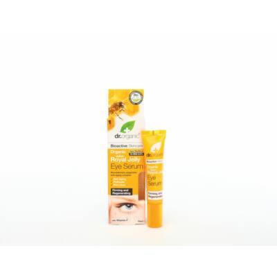 Dr. Organic Bio méhpempő Szemkörnyék ápoló szérum Bio méhpempővel és F-vitaminnal 15 ml