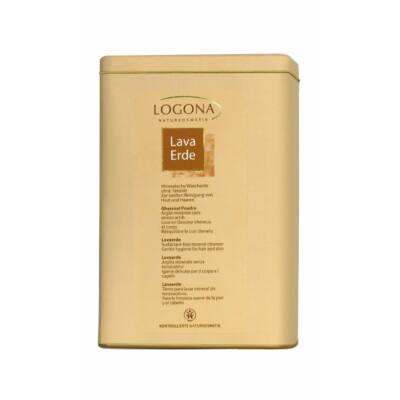 Logona Lavaerde fehér ásványi agyagpor a haj és bőr ápolására 1kg