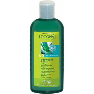 Logona Daily Care bio testápoló tej Aloe és Verbéna 200ml