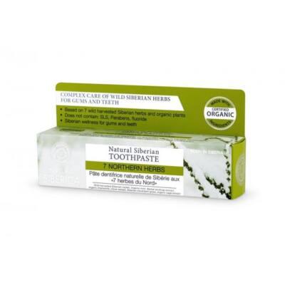 Natura Siberica 7 Northen Herbs Fluoridmentes 7 gyógynövényes fogkrém 100 g