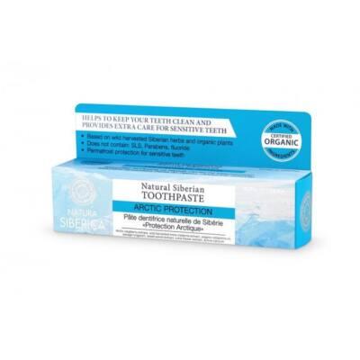 Natura Siberica Arctic Protection Fluoridmentes fogkrém érzékeny fogakra 100 g