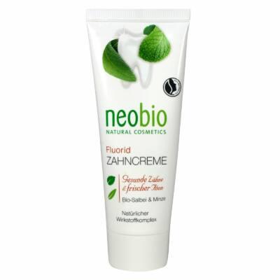 Neobio Fluoridos fogkrém bio zsályával és mentával 75ml