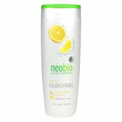 Neobio Tusfürdő Vitality BIO Naranccsal és BIO Citrommal 250ml