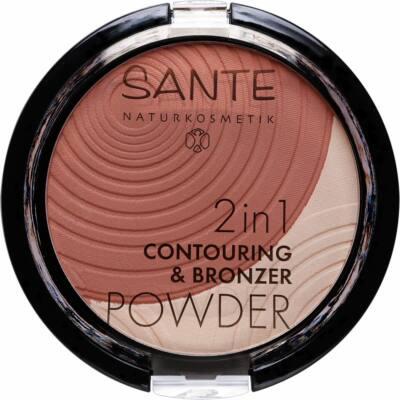 Sante 2in1 Kontúr & Bronzosító Púder 01 light-medium