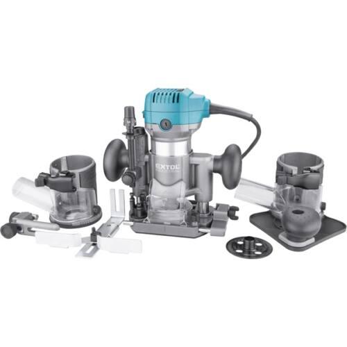 Extol Extol Industrial felsőmarógép, 710W, többfunkciós, befogás: 6/8mm /8793302/ olcsón